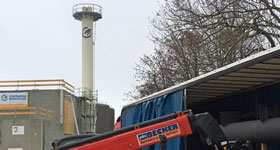 Wernigerode: Chimney for CHP unit